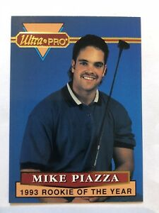Details About 1994 Ultra Pro Mike Piazza 1993 Rookie Of The Year 36 Limited Edition Card