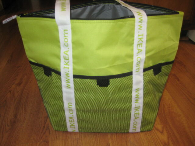 Ikea Cooler Bag Kylvaska Tote Food Travel Insulated Picnic Beach New Free Ship