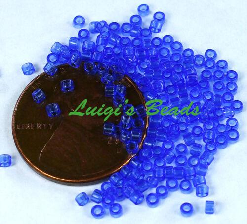 Transparent Sapphire 5g 11//0 TOHO Treasures Japanese Glass Seed Beads #942