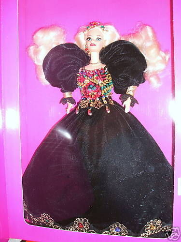 POUPEE BARBIE NEUVE COLLECTION Jeweled Splendor 1995 superbe rare n° 14061