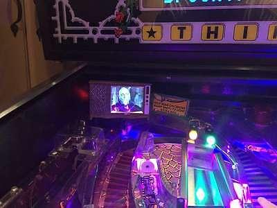 Terminator 2 Pinball mod NEW 2019! *Blood splattered* TV with VIDEO playback