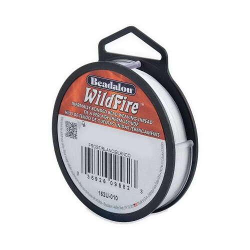 Wildfire Aufreihfaden für Perlen etc 0.15mm 114,4m weiss