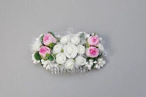 """Qualifié (022) Haargesteck Coiffe Communion Fleurs Fille Mariage Communion Bijoux-ck """" afficher Le Titre D'origine"""