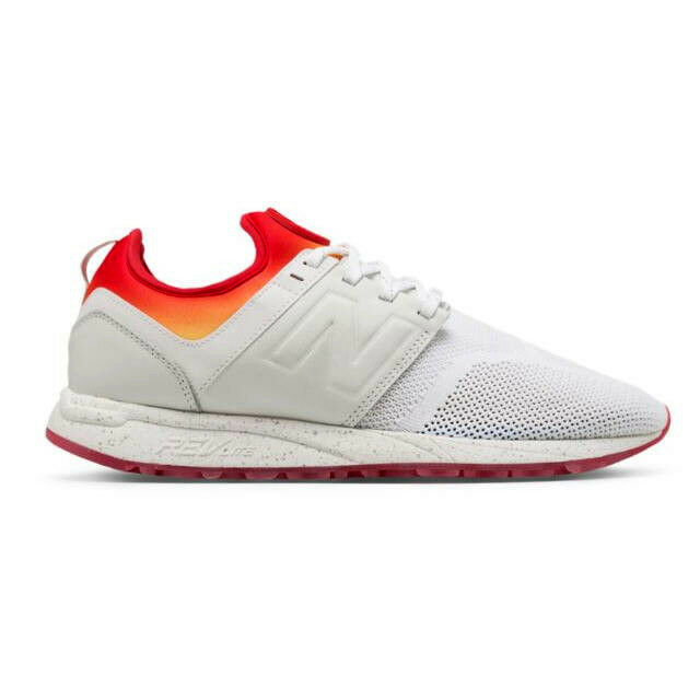New Balance MRL247CO - Men's 247 Lifestyle shoes White & Red