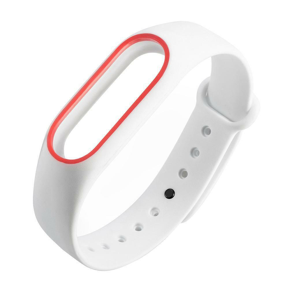 1# White Red Strap Only