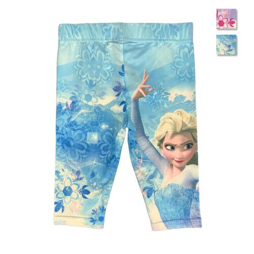 Disney Frozen legging pantalone ufficiale Elsa bambina da 3 a 8 anni 1052