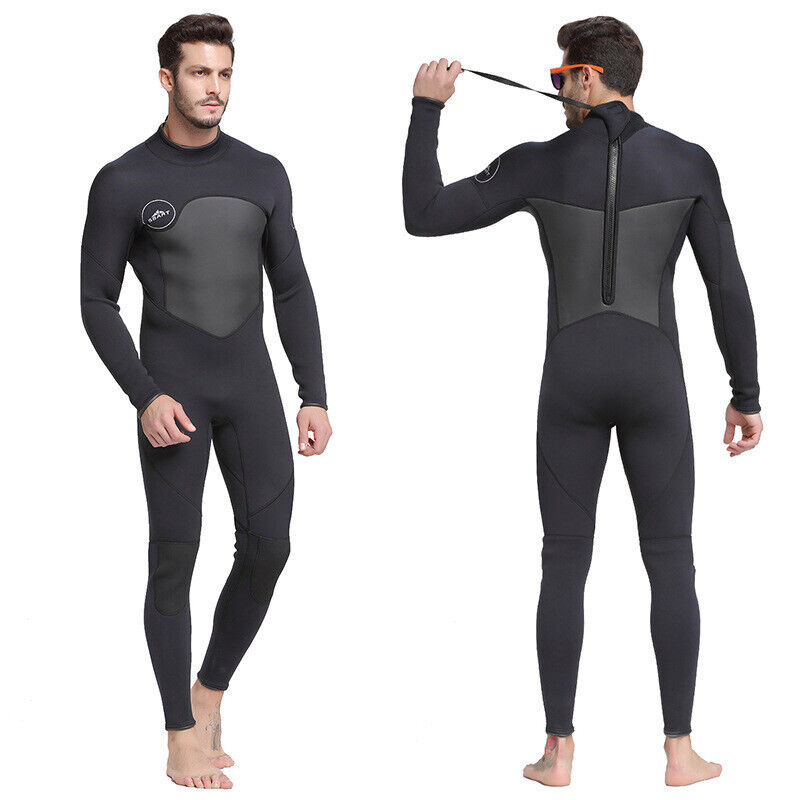 1.5mm One-Piece Long Sleeve  Surf Diving Jellyfish Suit Wetsuit Swimsuit For Men  cheap wholesale