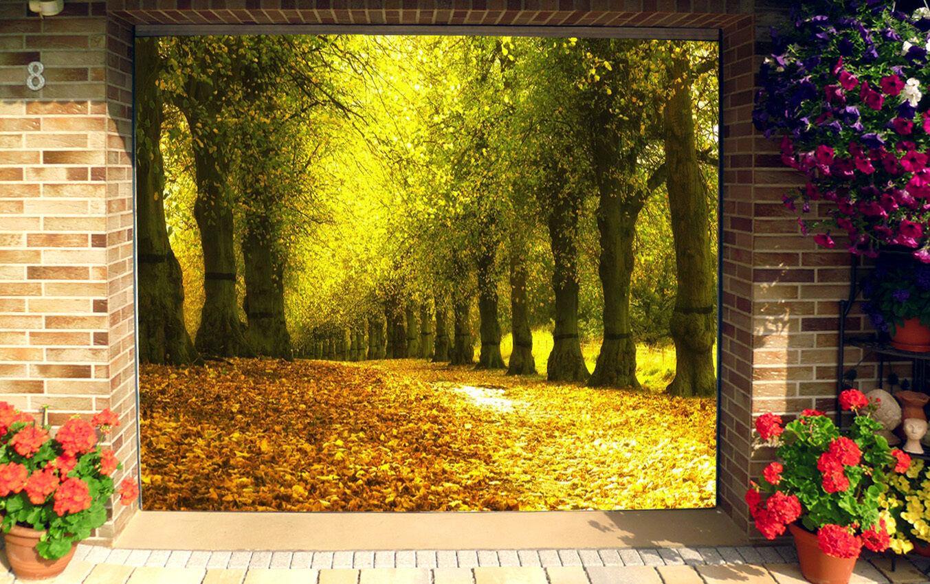 3D Stout woods 4 Garage Door Murals Wall Print Decal Wall Deco AJ WALLPAPER UK