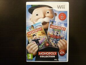 Nintendo Wii  Monopoly Collection  PAL complet Vers. FRA