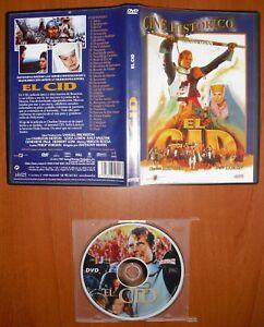 EL-CID-DVD-DIVISA-RED-Anthony-Mann-Charlton-Heston-Sofia-Loren-Ralf-Vallone