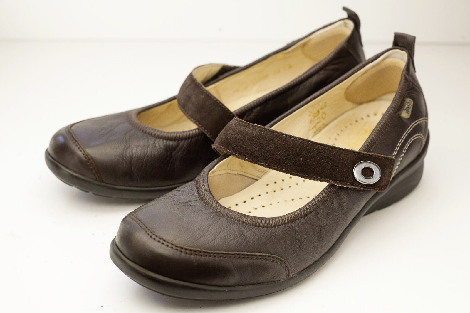 Fidelio Helga 7.5 Marrón Zapatos Para Mujer Mary Jane Jane Jane  de moda