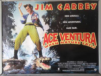 1997 original 27x40 D//S movie poster JENNIFER TILLY LIAR LIAR JIM CARREY