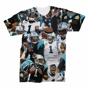 51820b5ae Image is loading Cam-Newton-Collage-T-Shirt