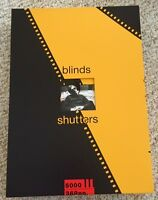 BLINDS AND SHUTTERS-GENESIS PUBLICATIONS-SIGNED BY KEITH RICHARDS & ERIC CLAPTON