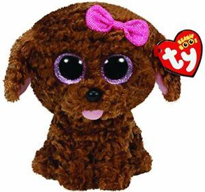 TY-Beanie-Boo-Plush-Maddie-the-Brown-Dog-15cm