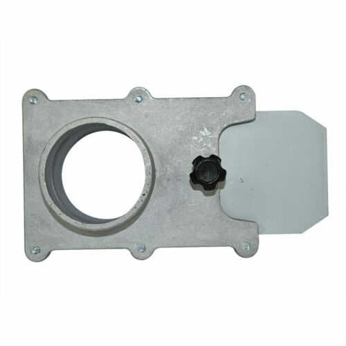Big Horn 11258 2-1//2 Inch Self Cleaning Blast Gate for Vacuum//Dust Collector
