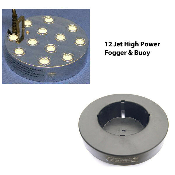 High High High Power 12 Jet Pond Ultrasonic Fogger Great Mister For Ponds & Water Features a44658
