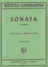 SAMMARTINI SONATA G Berteau//Rose Cello