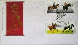 Malaysia FDC with Stamps (27.01.2014) - Horses