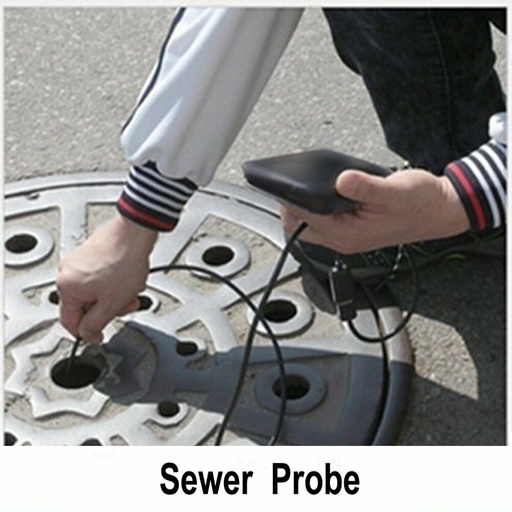 15m Pipe Inspection Camera Endoscope Video Ft Sewer 'Drain Cleaner Waterpr EP 6