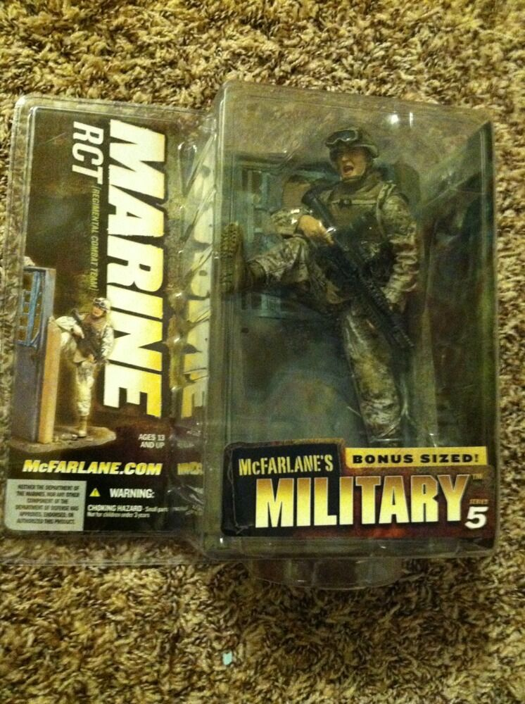 McFarlane's Military Series 5 RCT Regimental Combat Team MARINE Bonus Sized