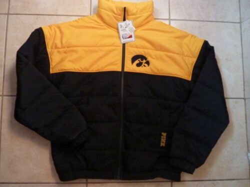 Victorias soffietto Rare Nwt con University Iowa Pink a zip Giacca intera Secret hawkeyes 0xUfBrwq0