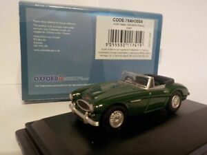 Model-Car-Austin-Healey-British-Racing-Green-Raf-1-76-New