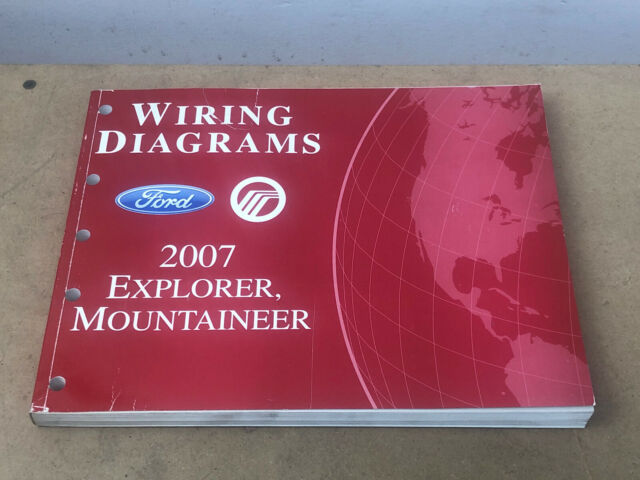 2007 Ford Mercury Dealer Electrical Wiring Diagram Manual