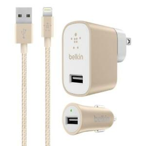 Belkin-MIXIT-4-039-Metallic-Lightning-cable-for-iPhone-car-home-charger-2-4-Amp