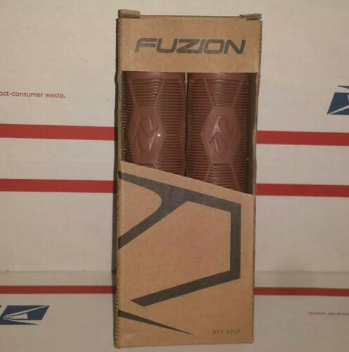 Fuzion Pro Scooters Hex Grips Perfect for Scooters Fixed BMX Bikes Gum Handles