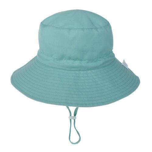 Summer Outdoor Baby Boy Girl  Sun Hat Beach Hat Bucket Cap Toddler Kids Newborn