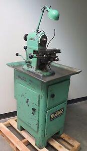 Horizontal Milling Machine >> Details About Hardinge Horizontal Mill Milling Machine Table 12 X 3 5 Made In Usa