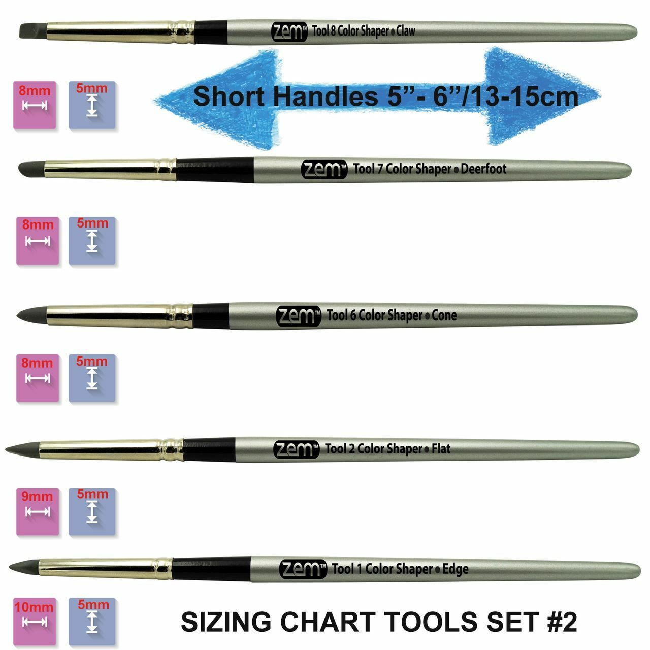 TOOL-8 Silicon Shaper Brush CLAW