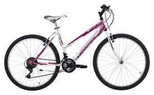 Details Zu Bici Bicicletta 26 X Trail Mtb Rosa Bianco Donna Ragazza 18 Velocita Femminile