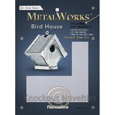 Metal Earth Bird House DIY Build Assemble Model Steel Sheet 3D Building Craft