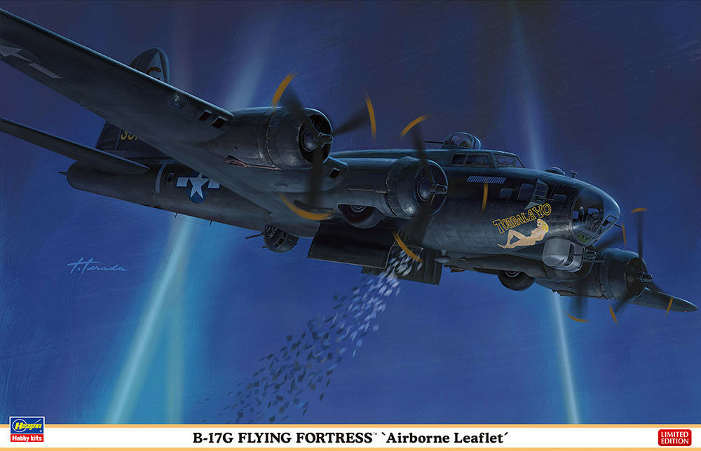 Hasegawa 1 72 Boeing B-17g Flying Fortress 'Airbourne Opuscolo'  02276