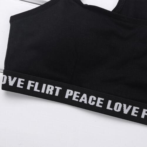 Girls Training Bra Teenage Kids Soft Cotton Breathable Sports Underwear Clothing