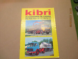 KIBRI-catalogue-documentaion-brochure-collection-1976-77-avec-tarif