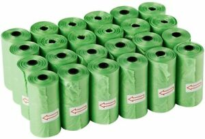Biodegradable Dog Poop Bags With Leak-proof Unscented Compostable Pet Waste