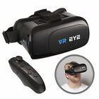 VR Eye 3d Virtual Reality Glasses Headset Bluetooth Controller for Android