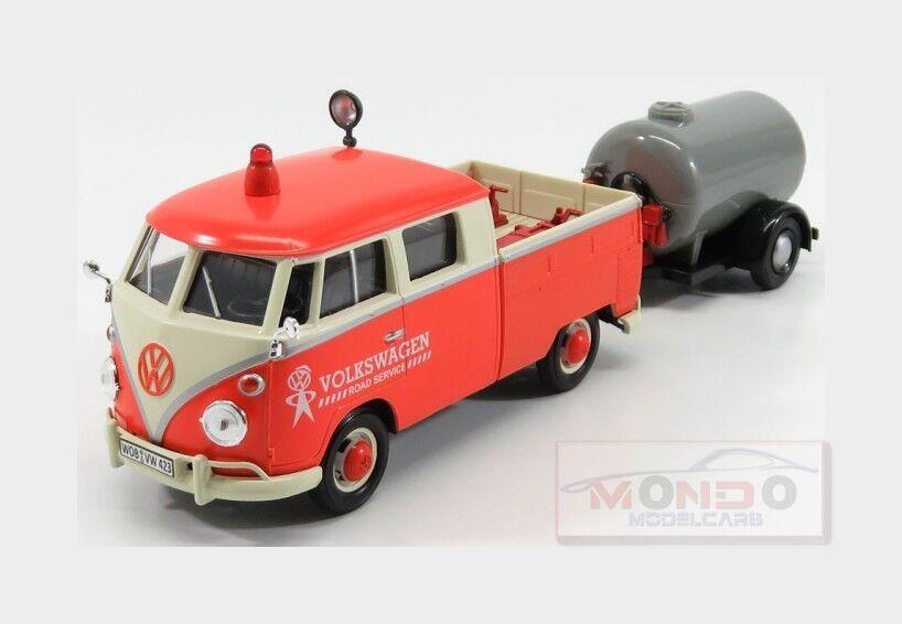 Volkswagen T2 Road Service With Tanker Trailer 1962 MOTORMAX 1 24 MTM79674