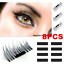Ultra-thin-Magnet-Sheet-Reusable-For-3D-Magnetic-False-Eyelashes-DIY-8PCS-SET thumbnail 2