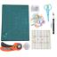 miniatura 18 - Cuero-Herramientas-de-Arte-Costura-Esculpido-Trabajo-Mosaico-Corte-Kit-Bricolaje