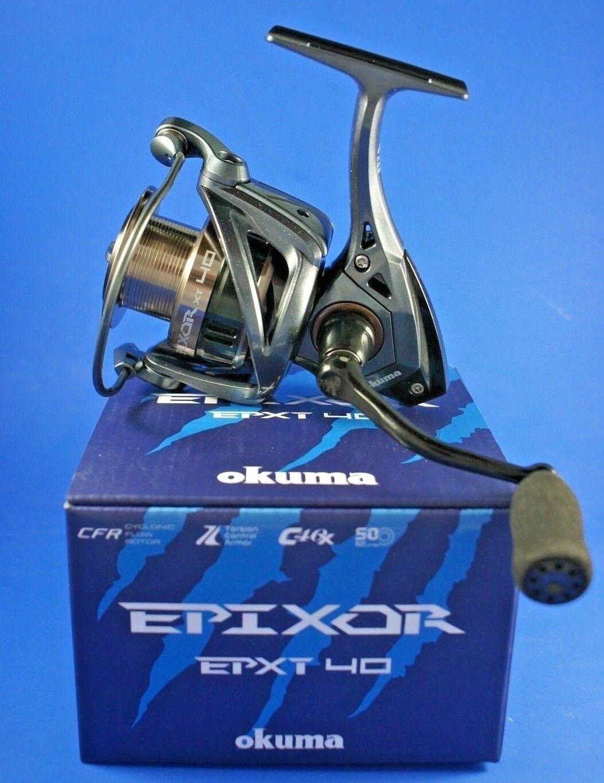 Okuma Epixor XT EPXT-40  FD 7+1BB 5.0 1 57722 Front Drag Fishing Reel  lightning delivery