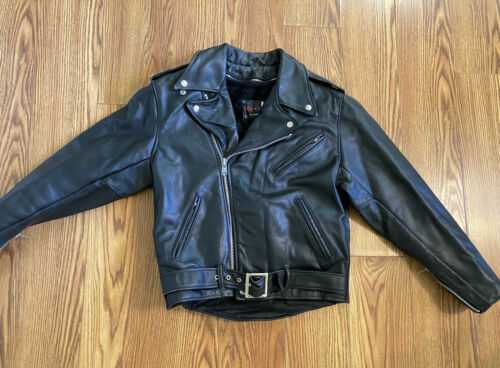 "schott leather jacket ""Duro Jac"" Moto Medium"