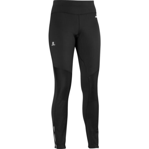 Women/'s Salomon Trail Windstopper Running Training Tights Pants Extra Small XS