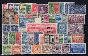 P131832-NEWFOUNDLAND-CANADIAN-PROVINCE-LOT-1933-1947-MH-CV-330