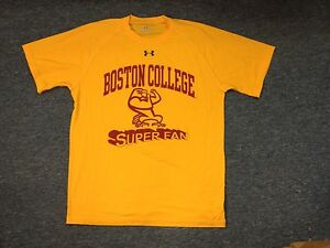 Image is loading UNDER-ARMOUR-NCAA-BOSTON-COLLEGE-SUPER-FAN-PERFORMANCE- ea4841b31125