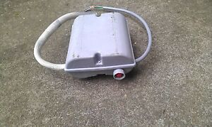 MALLORY Electric starter motor with 3 core cable attached