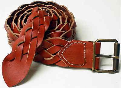 1a Oggetti Da Lavoro In Pelle Cintura In Pelle Flechtgürtel Nuovo Cintura Lederflechtgürtel 4cm-tel 4cm It-it Mostra Il Titolo Originale
